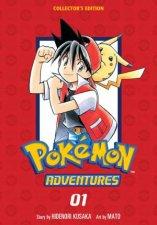 Pokemon Adventures Collectors Edition Vol 1