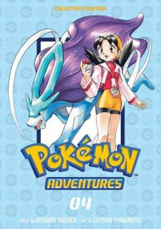 Pokemon Adventures Collector's Edition, Vol. 4 by Hidenori Kusaka