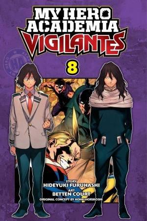 My Hero Academia: Vigilantes 08 by Kohei Horikoshi