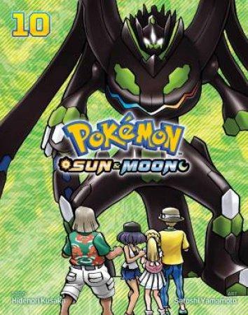 Pokémon: Sun & Moon, Vol. 10 by Satoshi Yamamoto & Hidenori Kusaka