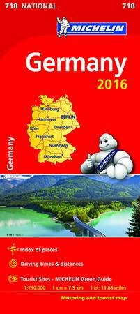 Germany 2016 National Map 718 by Various