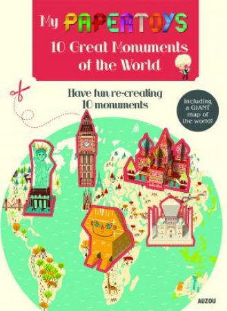 My Papertoys: 100 Great Monuments Of The World by Jonas le Saint