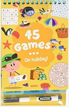 45 Games… On Holidays!
