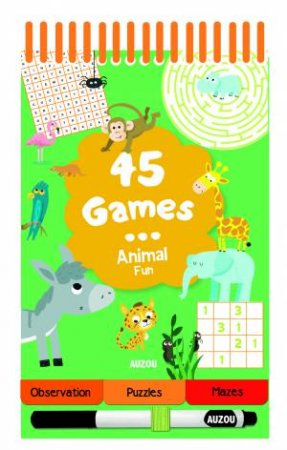 45 Games Animal Fun