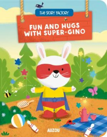 Fun And Hugs With Super-Gino