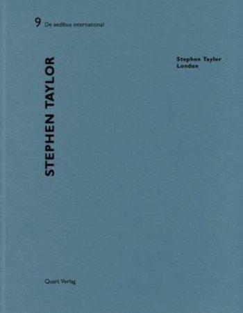 Stephen Taylor: De aedibus International 9 by WIRZ HEINZ