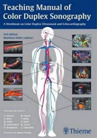 teaching manual of color duplex sonography by matthias hofer rh qbd com au Teacher Manuals Textbooks Teacher Manuals Textbooks