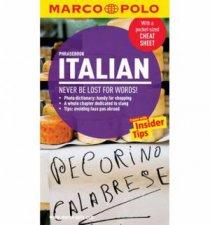 Marco Polo Phrasebook Italian