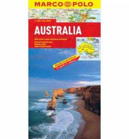 Marco Polo Map: Australia