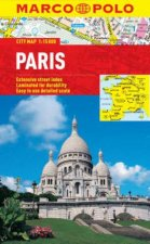 Marco Polo City Map Paris by Various