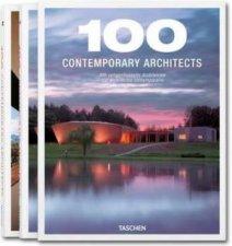 100 Contemporary Architects 2 Volume Set