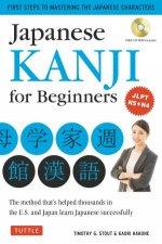 Japanese Kanji For Beginners by Timothy G Stout & Kaori Hakone