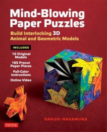 Mind-Blowing Paper Puzzles Kit