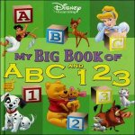Disney My First Big Book Of Abc 123 by Various