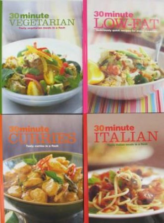 30 Minute Cookbooks - Pack of 4  by Various