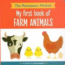The Montessori Method My First Book Of Farm Animals