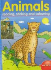 Animals Reading Sticking  Colouring