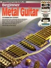 Progressive Beginner: Metal Guitar by Jason Beveridge