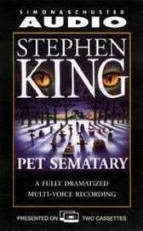 Pet Semetary - Cassette by Stephen King