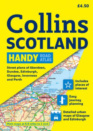 Collins Handy Road Atlas Scotland by Collins Uk