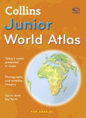 Collins Junior World Atlas by Stephen Scoffham