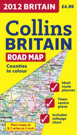 Collins 2012 Road Map Britain by Collins Uk