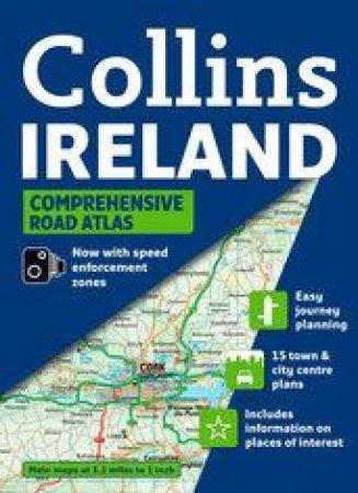 Collins Comprehensive Road Atlas Ireland by Collins
