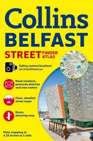 Collins Belfast Street Finder Atlas by Collins Uk