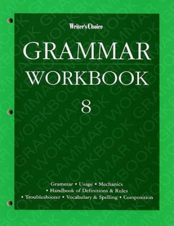 Grammar Workbook 8 by Not Available