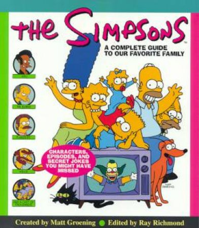 The Simpsons by Matt Groening & Ray Richmond & Antonia Coffman