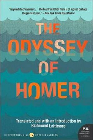 The Odyssey of Homer by Richmond Lattimore