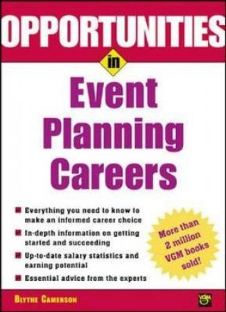 Opportunities in Event Planning Careers by Blythe Camenson