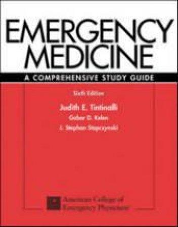 Emergency Medicine by Judith E. Tintinalli & Gabor D. Kelen & J. Stephan Stapczynski