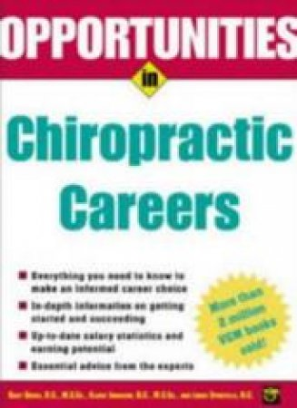 Opportunities in Chiropractic Careers by Bart N. Green & Claire Johnson & Louis Sportelli