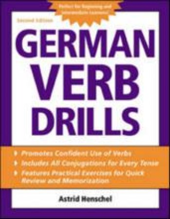 German Verb Drills by Astrid Henschel