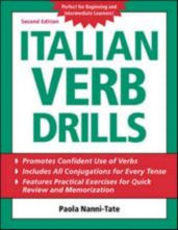 Italian Verb Drills by Paola Nanni-Tate