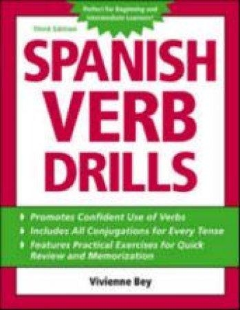 Spanish Verb Drills by Vivienne Bey & Beatrice Jorgensen Concheff