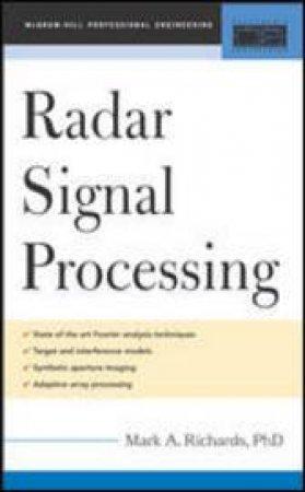 Fundamentals of Radar Signal Processing by Mark A. Richards