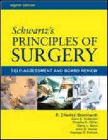 Schwartz's Principles of Surgery by F. Charles Brunicardi & Mary L. Brandt & Dana K. Anderson & Timothy R. Billiar & David L. Dunn & John G. Hunter