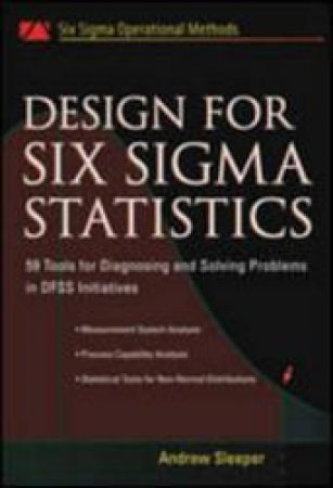 Design for Six Sigma Statistics by Andrew D. Sleeper