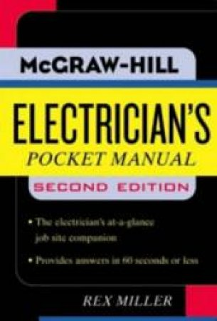 Electrician's Pocket Manual by Rex Miller