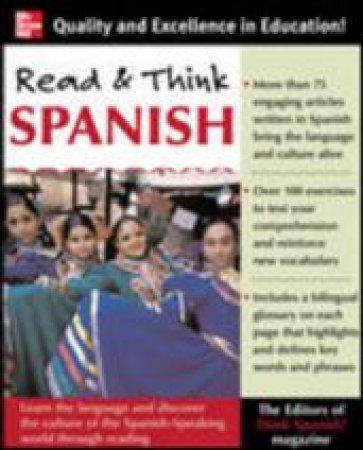 Read & Think Spanish by Think Spanish! Magazine