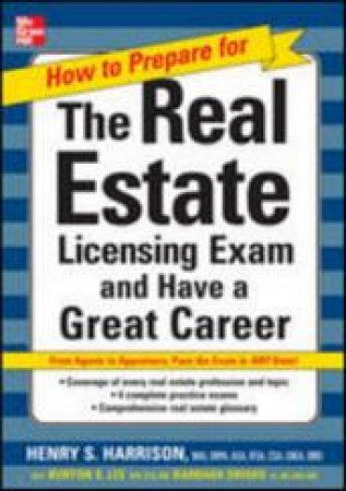 How to Prepare The Real Estate Licensing Exam by Henry S. Harrison & Burton S. Lee & Barbara L. Drisko
