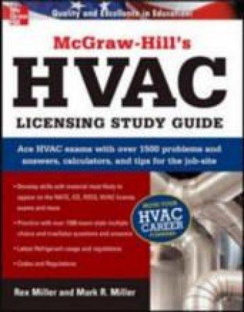 HVAC Licensing by Rex Miller & Mark R. Miller
