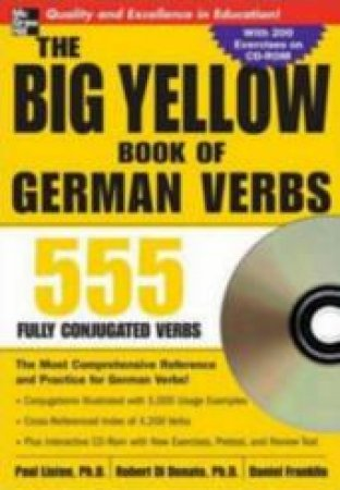 The Big Yellow Book of German Verbs by Paul Listen & Robert Di Donato & Daniel Franklin