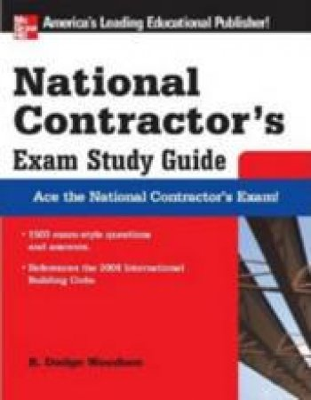 National Contractor's Exam by R. Dodge Woodson & Jane L. Roy