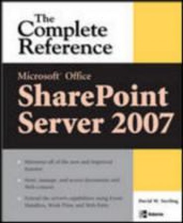 Microsoft Office SharePoint Server 2007 by David Matthew Sterling