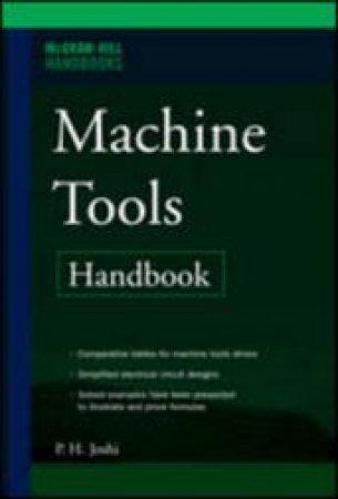 Machine Tools Handbook by P. H. Joshi