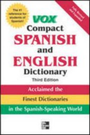 Vox Compact Spanish & English Dictionary by Not Available