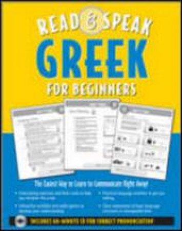 Read & Speak Greek for Beginners by Hara Garoufalia & Howard Middle & Leila Gaafar